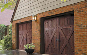 Stain Grade Carriage House Style